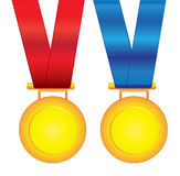 Vector medals Stock Photo