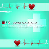 Vector medical background Royalty Free Stock Photo