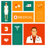vector medical background, Royalty Free Stock Image