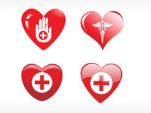 Vector medical icon series Stock Images