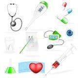 Vector medical set Royalty Free Stock Photo