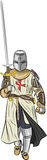 Vector medieval knight Stock Photo