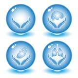 Vector medische pictogrammen Royalty-vrije Stock Fotografie