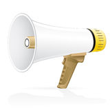 Vector megaphone icons Royalty Free Stock Photo