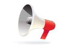 Vector megaphone isolated Stock Photography