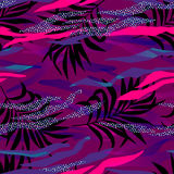 Vector memphis style pattern Royalty Free Stock Image