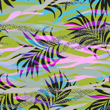 Vector memphis style pattern Stock Photo
