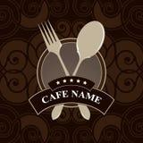 Vector. Menú del café, diseño de la cubierta Fotografía de archivo libre de regalías