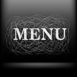 Vector menu background Stock Images