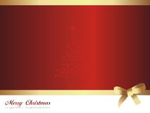 Vector merry christmas background Stock Photography