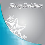 Vector Merry christmas background with stars Stock Photo