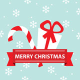 Vector Merry Christmas card Royalty Free Stock Photography