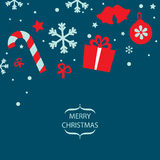 Vector Merry Christmas card Stock Photo