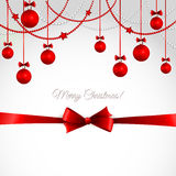 Vector Merry Christmas greeting card Stock Photo