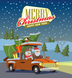 Vector merry christmas Stock Photography