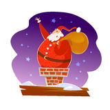 Vector Merry Christmas, Happy New year congratulation design. Royalty Free Stock Images