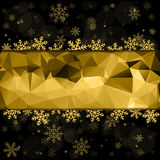 Vector Merry Christmas and Happy New Year 2016 greeting card background for Web and Mobile app, art illustration Royalty Free Stock Photos