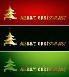 Vector Merry christmas tree background Stock Photos