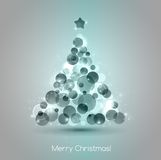 Vector Merry christmas tree background Stock Photo
