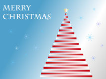 Vector merry christmas tree Stock Photo
