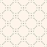 Vector mesh seamless pattern Royalty Free Stock Image
