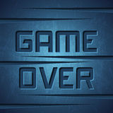 Vector Message: Game Over Stock Photography