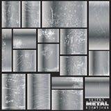 Vector metaalkrassen Royalty-vrije Stock Afbeeldingen