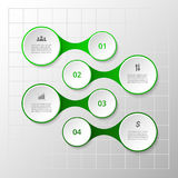 Vector metaball template Stock Photography