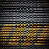 Vector metal grid Royalty Free Stock Photo
