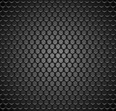 Vector metal grid seamless pattern on transparent background. Black iron speaker grill endless texture. Web page fill. Vector metal grid seamless pattern on Stock Photography