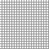 Vector Metal grid seamless on white Royalty Free Stock Image