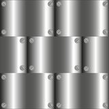 Vector metal texture Stock Photography