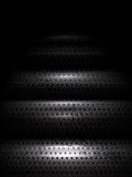 Vector Metal Texture Stairs Going Down Royalty Free Stock Image