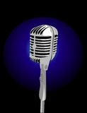 Vector microphone Royalty Free Stock Images