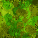 Vector military camouflage pattern in green colors Royalty Free Stock Photo