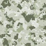 Vector military camouflage pattern in green colors Stock Photo