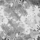 Vector military camouflage pattern in grey colors Royalty Free Stock Photos