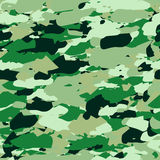 Vector military camouflage pattern. Hand drawn spots. Can be used for fashion feminine fabric textile design Stock Image