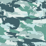 Vector military camouflage pattern. Hand drawn spots. Can be used for fashion feminine fabric textile design Stock Photo