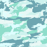 Vector military camouflage pattern. Hand drawn spots. Can be used for fashion feminine fabric textile design Royalty Free Stock Image