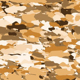 Vector military camouflage pattern. Hand drawn spots. Can be used for fashion feminine fabric textile design. Seamless royalty free illustration