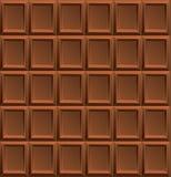 Vector Milk Chocolate Background Stock Photo