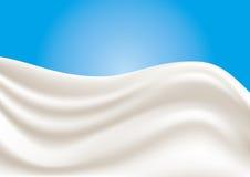 Vector Milk Splash Royalty Free Stock Photos
