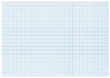 Vector millimeter paper a3 size Royalty Free Stock Images