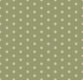 Vector minimaal geometrisch naadloos patroon met kleine zeshoeken Groenkleur royalty-vrije illustratie