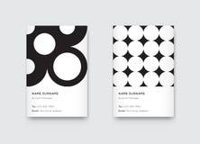 Vector Minimal Propaedeutics Black and White Graphic Trendy Vert Royalty Free Stock Photo