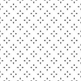 Vector minimalist seamless pattern, shapes vector royalty free illustration