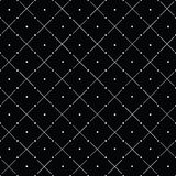 Vector minimalistic pattern. Repeating geometric tiles rounds, dots, stripes, strokes Stock Photos