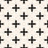 Vector minimalistisch naadloos patroon met kleine cirkels Royalty-vrije Stock Foto's
