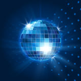 Vector mirror disco ball Royalty Free Stock Images